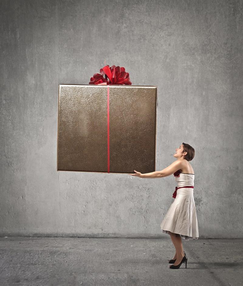 Offrir un cadeau à la mode
