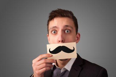Porter la moustache ? Moi, jamais !