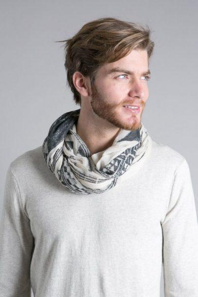 Echarpe homme, plutôt laine ou cotton ?