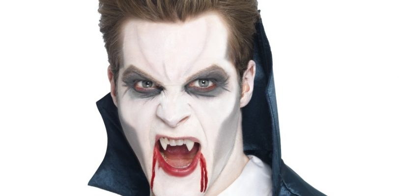 Maquillage halloween simple vampire homme - Maquillage halloween facile homme ...