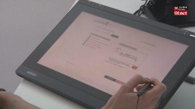 Signature électronique : aucune compétence