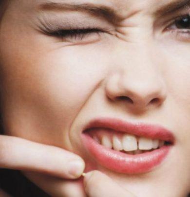 Comment faire partir des boutons d'acné ?
